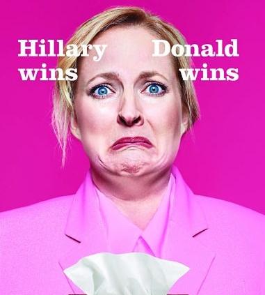 Trump or Hilary - Scotties Ad